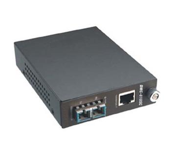 image Convertisseur éthernet cuivre RJ45 / fibre SC mulitmode
