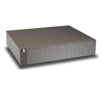 image Convertisseur éthernet cuivre RJ45 / SC simplex pour fibre monomode